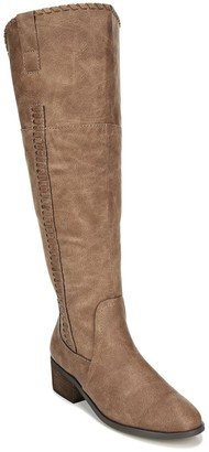 Carlos by Carlos Santana Briar Braided Thigh-High Boots