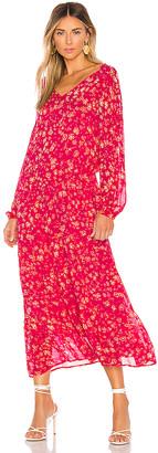 Free People Wall Flower Midi Dress
