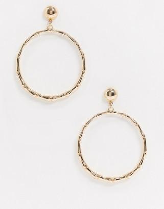 Aldo Jerilinna hoop earrings in gold