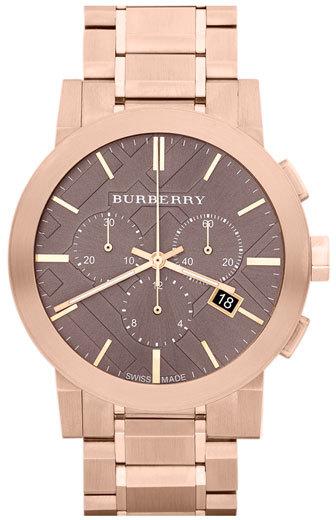 Burberry Large Chronograph Bracelet Watch, 42mm (Regular Retail Price: $895.00)