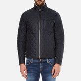 Barbour International Men's Axle Quilt Jacket Navy