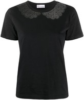 RED Valentino Lace Detail T-Shirt