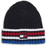 Tommy Hilfiger Three-Stripe Knit Beanie