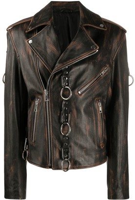 Manokhi Morgan ring embellished jacket
