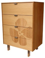 Iannone Design - Flower Inlay Tall Dresser