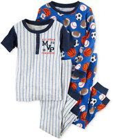 Carter's 4-Pc. MVP Sports Pajama Set, Baby Boys (0-24 months)