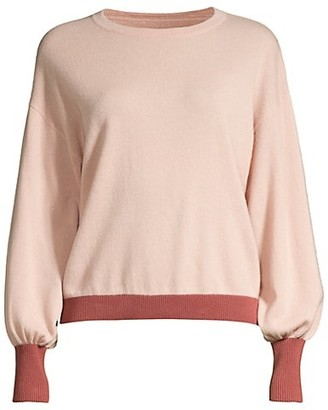 Seventy Bi-Color Wool & Cashmere Sweater