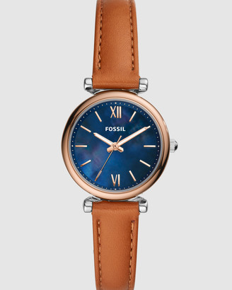 Fossil Carlie Mini Brown Analogue Watch