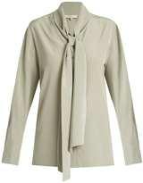 Vanessa Bruno Heythem scarf-tie silk crepe de Chine blouse