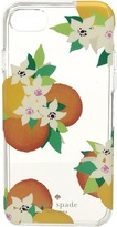 Kate Spade Orange Blossoms Phone Case for iPhone 7 Cell Phone Case