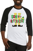 CafePress - Elf Son Of A Nutcracker - Cotton Baseball Jersey, 3/4 Raglan Sleeve Shirt