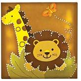 Babies R Us By Design Safari Light Up Wall Art