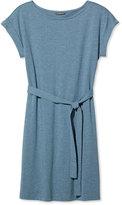 L.L. Bean Signature T-Shirt Dress, Heathered