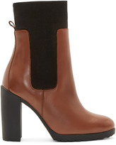Pierre Hardy Tan New Casual Ankle Boots