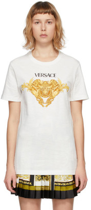 Versace White Medusa Graphic T-Shirt