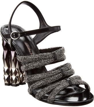Salvatore Ferragamo Amalia Leather Sandal