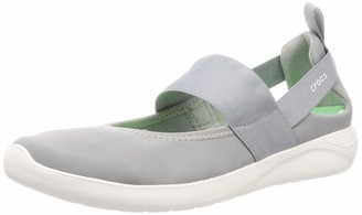 Croc Women's LiteRide Mary Jane Sneaker | Comfort Slip On Shoes Flat