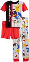 Pokemon 3-Pc. Pajama Set, Little Boys (4-7) & Big Boys (8-20)