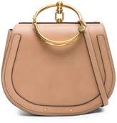 Chloé Medium Nile Calfskin & Suede Bracelet Bag