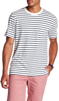 Tailor Vintage Striped Crew Neck Linen Tee