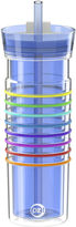 Zak Designs HydraTrak 20-oz. Insulated Striped Tumbler with Straw
