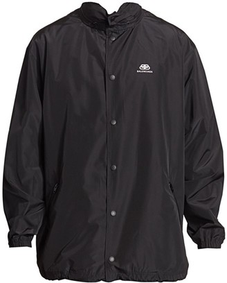 Balenciaga Solid Color Rain Coat