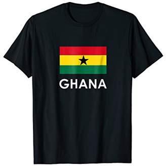 Ghana Flag T Shirt for Ghanaians Loving Americans