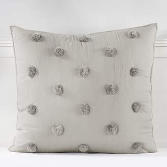 Pottery Barn Teen Crinkle Puff Quilt, Twin/Twin XL, Light Gray
