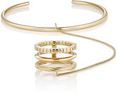 Saint Laurent Women's Gold Vermeil Hand Bracelet