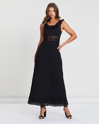 Atmos & Here Atmos&Here Kelly Midi Ruffle Dress