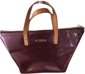 Louis Vuitton Bellevue Purple Patent leather Handbags
