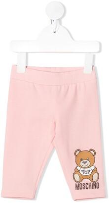 MOSCHINO BAMBINO Teddybear Print Trousers