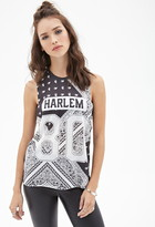 Forever 21 Harlem Paisley Print Muscle Tee