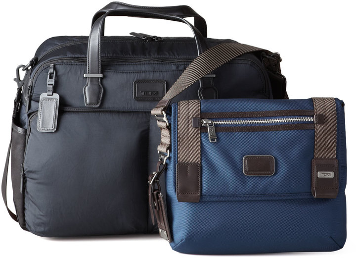 Tumi Alpha Bravo Knox Backpack, Everett Tote, & Beale Mini Messenger