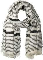 Bindya Pop of Stripe Scarf Scarves