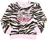 Kenzo Embroidered Tiger Cotton Sweatshirt