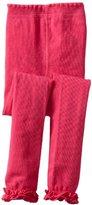 Jefferies Socks Big Girls' Pima Cotton Ruffle Footless Tight