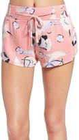 MinkPink &Field of Dreams& Print Pajama Shorts
