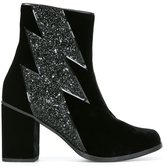 House of Holland thunder detail ankle boots