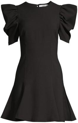 LIKELY Alia Puff-Sleeve Mini Dress