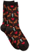 Hot Sox Women's Dogs and Milkshake Socks
