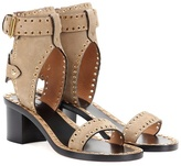 Isabel Marant Exclusive to mytheresa.com – Jaeryn embellished suede sandals