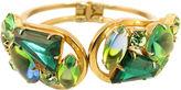 One Kings Lane Vintage Juliana Emerald Bangle Bracelet