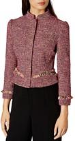 Karen Millen Tweed Fringe Jacket