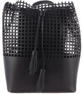 Loeffler Randall Laser Cut Leather Backpack