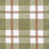 Trend Lab Deer Lodge Plaid Deluxe Flannel Swaddle Blanket