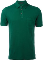 Zanone chest pocket polo shirt - men - Cotton - S