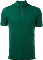 Zanone chest pocket polo shirt