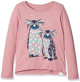 Fat Face Girl's Penguin Long Sleeve Top,(Manufacturer Size: 6-7)