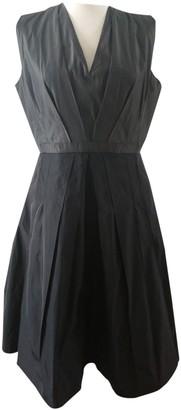 Rue Du Mail Khaki Polyester Dresses